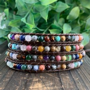 Jewelry - Handmade BOHO Chic Wrap Bracelet